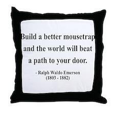 Ralph Waldo Emerson 8 Throw Pillow