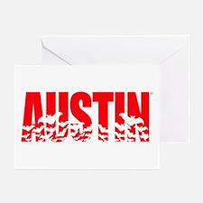 Austin Bats Greeting Cards (Pk of 20)