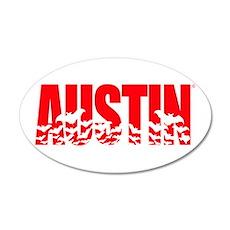 Austin Bats Wall Decal