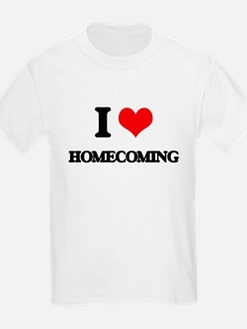 I Love Homecoming T-Shirt