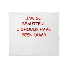 beautiful Throw Blanket