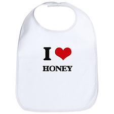 I Love Honey Bib