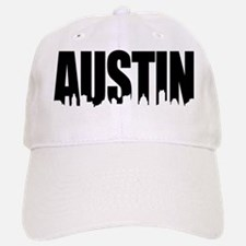 Austin Texas Skyline Baseball Baseball Cap