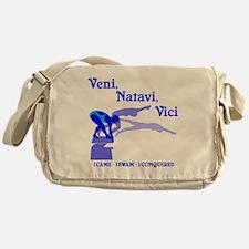 VENI-NATAVI-VICI Messenger Bag