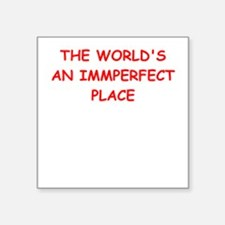 imperfect Sticker