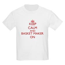 Keep Calm and Basket Maker ON T-Shirt