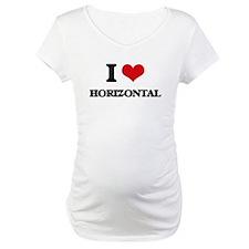 I Love Horizontal Shirt