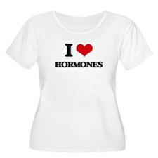 I Love Hormones Plus Size T-Shirt