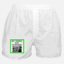 reading Boxer Shorts
