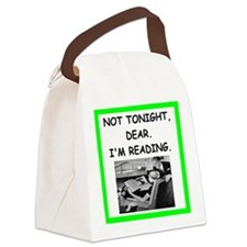 reading Canvas Lunch Bag