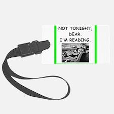 reading Luggage Tag