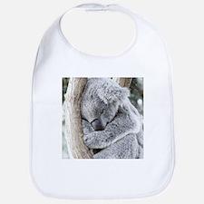Sleeping Koala baby Bib