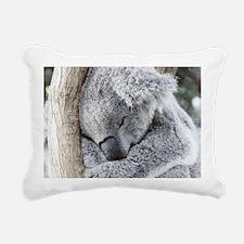 Sleeping Koala baby Rectangular Canvas Pillow