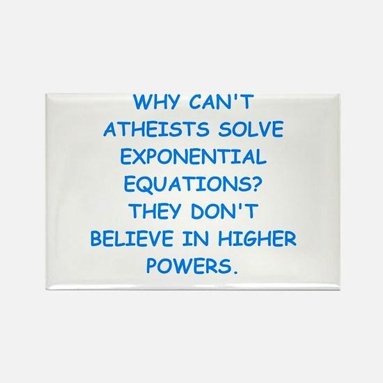 atheist math Magnets