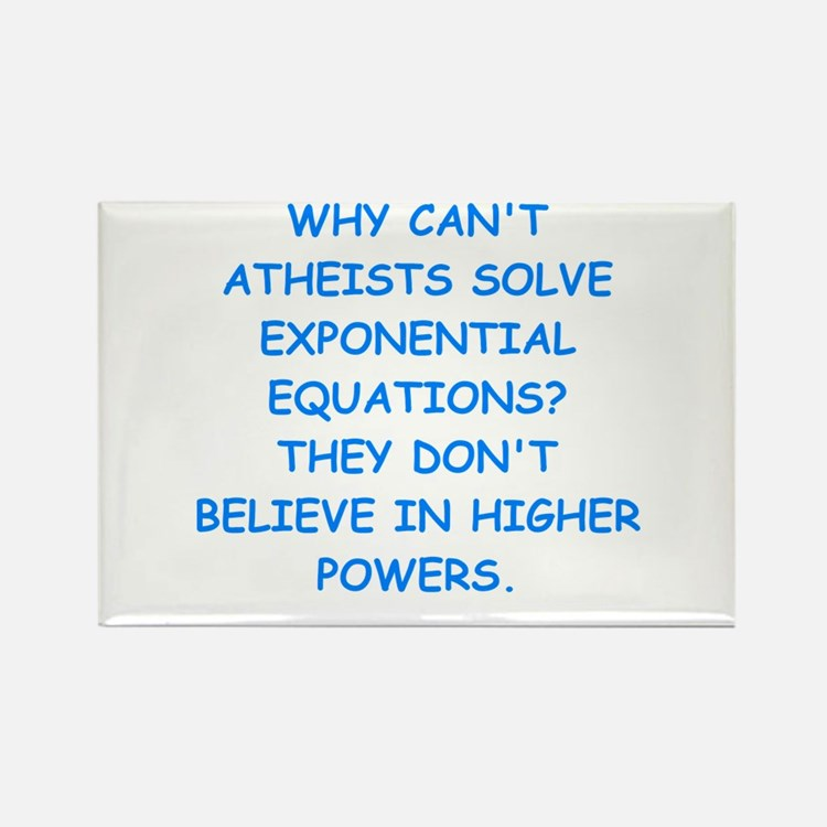 atheist math Magnets