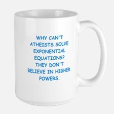 atheist math Mugs