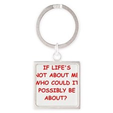 self centered Keychains