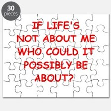 self centered Puzzle