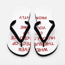 human sacrifice Flip Flops