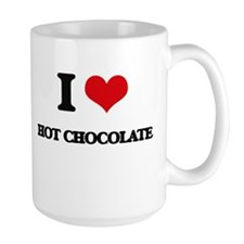 I Love Hot Chocolate Mugs