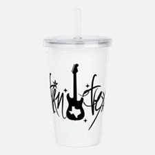 Austin Texas Guitar Acrylic Double-wall Tumbler