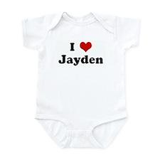 I Love Jayden Infant Bodysuit