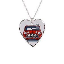 Cute Cooper Necklace Heart Charm