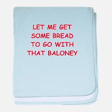 baloney baby blanket