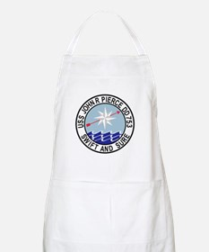 DD-753 USS John R Pierce Destroyer Ship Mili Apron