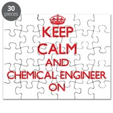 Keep Calm and Chemical Engineer ON Puzzle