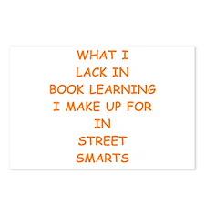 street smart Postcards (Package of 8)