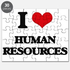 I Love Human Resources Puzzle