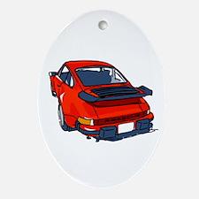 Fortitude's Porsche 911 Carrera '' Ornament (Oval)