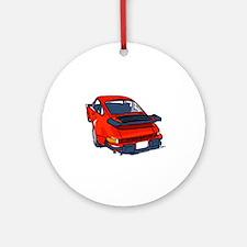 Fortitude's Porsche 911 Carrera ' Ornament (Round)