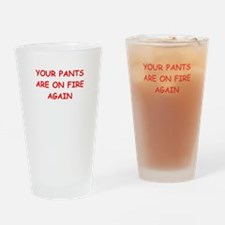 liar Drinking Glass