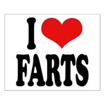 I Love Farts Small Poster