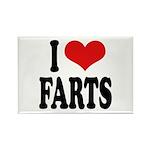 I Love Farts Rectangle Magnet (10 pack)