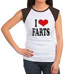 I Love Farts Women's Cap Sleeve T-Shirt