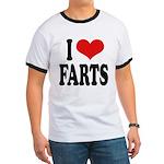 I Love Farts Ringer T
