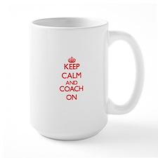 Keep Calm and Coach ON Mugs