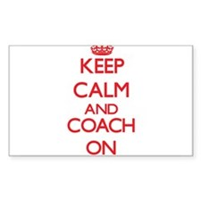 Keep Calm and Coach ON Decal