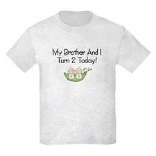 Cute Birthday twins T-Shirt