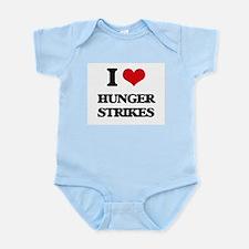 I Love Hunger Strikes Body Suit