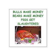 bulls and bears Sticker