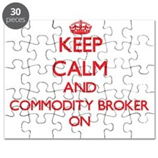 Keep Calm and Commodity Broker ON Puzzle
