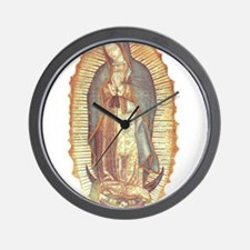 Virgen_de_guadalupe Wall Clock