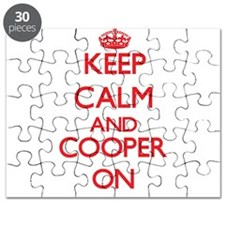 Keep Calm and Cooper ON Puzzle