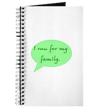 run for family Journal