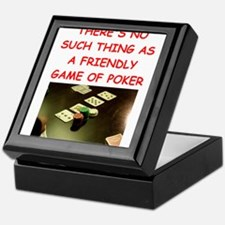 poker Keepsake Box
