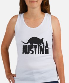 Austin Beer Armadillo Women's Tank Top